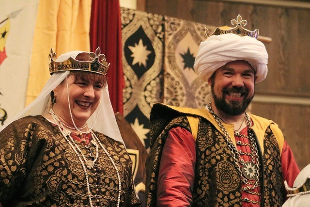 Picture of Their Royal Majesties